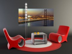 Fototapeta Golden Bridge