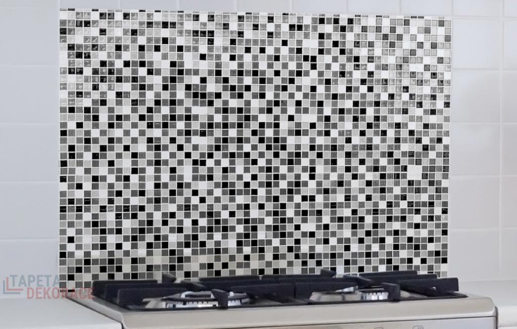 Samolepící panel do kuchyně, koupelny, za sporák Bellacasa na zeď Mozaika 67216 / Žáruvzdorná samolepka dekorace Mosaic Crearreda (47 x 65 cm)