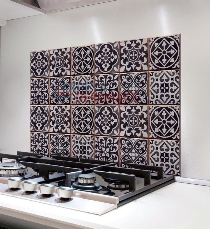 1289ebbaee4b Samolepící panel za sporák Bellacasa kachličky obklady 67253   Žáruvzdorná  samolepka dekorace do kuchyně
