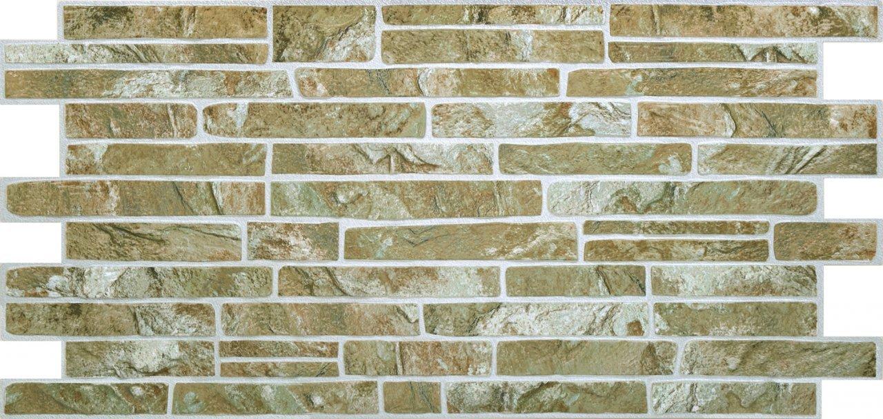 3D obkladový panel na zeď D0001 cihly světlé / 3D stěnové obkladové panely PVC (935 x 469 mm)