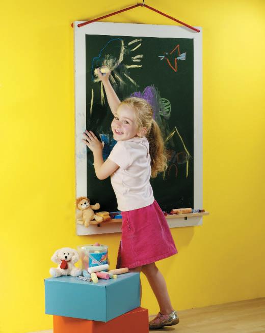 Samolepicí zelená tabulová tapeta fólie 67,5 cm 11431 / nalepovací tabule šířka 67,5 cm, metráž (cena za 1 m) samolepící tapety a fólie GEKKOFIX