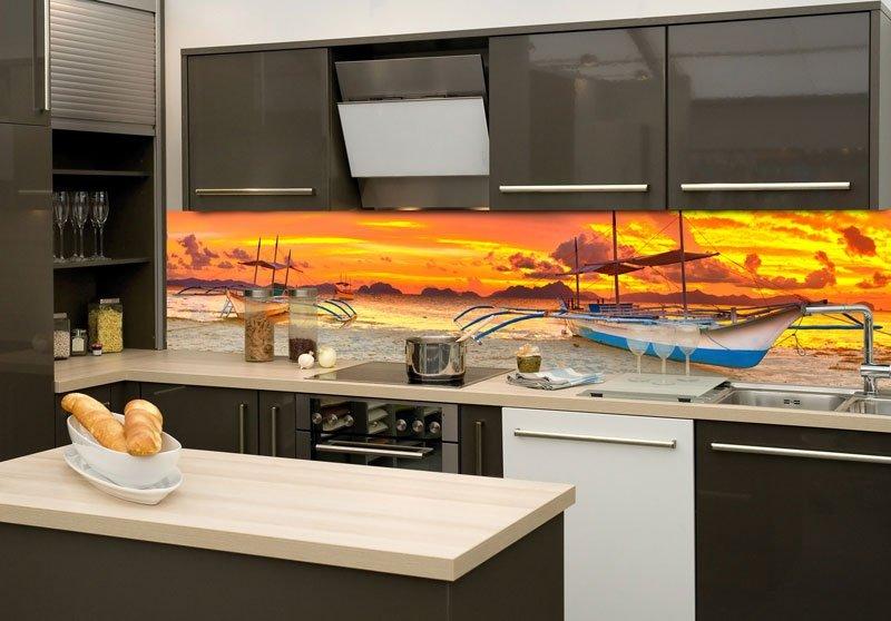 samolepic fototapeta do kuchyn lun ki260 014. Black Bedroom Furniture Sets. Home Design Ideas
