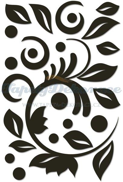 Samolepicí 3D pěnová dekorace 47x70cm Crearreda 58506