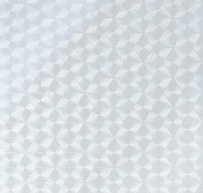 Transparentní samolepicí fólie 45 cm, metráž, vitráž na sklo, průsvitná, kosočtverce 11419 / samolepící tapety Vitrodecor Gekkofix